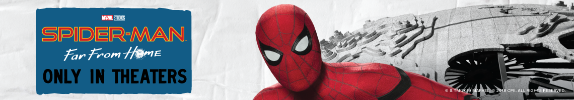 Spider-Man: Far From Home, solo en cines